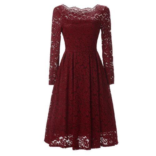 mini abito cerimonia da donna in pizzo scollo barchetta vestito da festa party