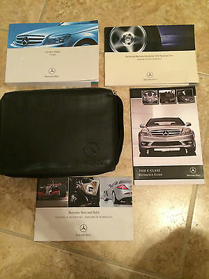 2008 MERCEDES-BENZ C-CLASS OWNER MANUAL ( FREE SHIPPING )