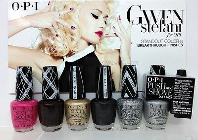 LIMITED - OPI - GWEN STEFANI Collection Spring 2014 - All 6 Shades G26 - G31