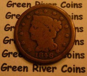 1846 Large Cent   #MQ46