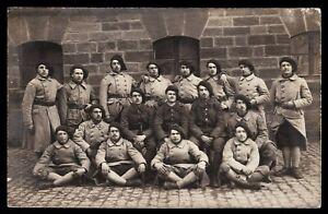 WW1-ALPINE-HUNTER-SPECIAL-MOUNTAIN-UNIT-RPPC-PHOTO-ANTIQUE-POSTCARD