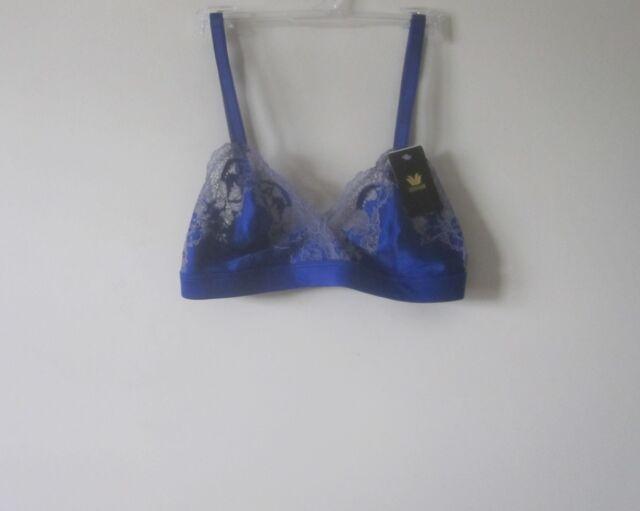 7f8cb6d99e Wacoal 852256 Lace Affair Wire Bra 32 C d Clematis Blue cadet 32c d ...