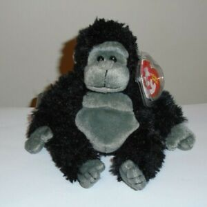 Ty Beanie Baby - TUMBA the Gorilla - MINT with MINT TAGS