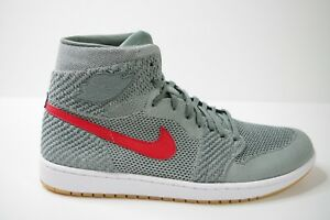 a38144891bbea NIKE AIR JORDAN 1 RETRO HI FLYKNIT CLAY size UK 12 EUR 47.5 US 13 ...