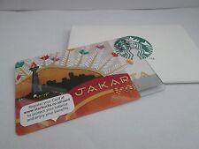 STARBUCKS CARD  INDONESIA  2015  JAKARTA  WITH SLEEVE