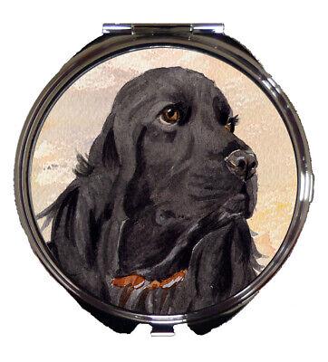 ENGLISH SETTER DOG CAR SEAT BELT PAD DESIGN SANDRA COEN ARTIST WATERCOLOUR PRINT