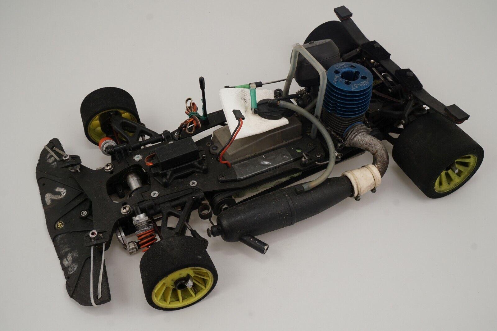 Serpent Modelo de Coche 1 8 Vector NT 2002 con Repuestos Modelismo