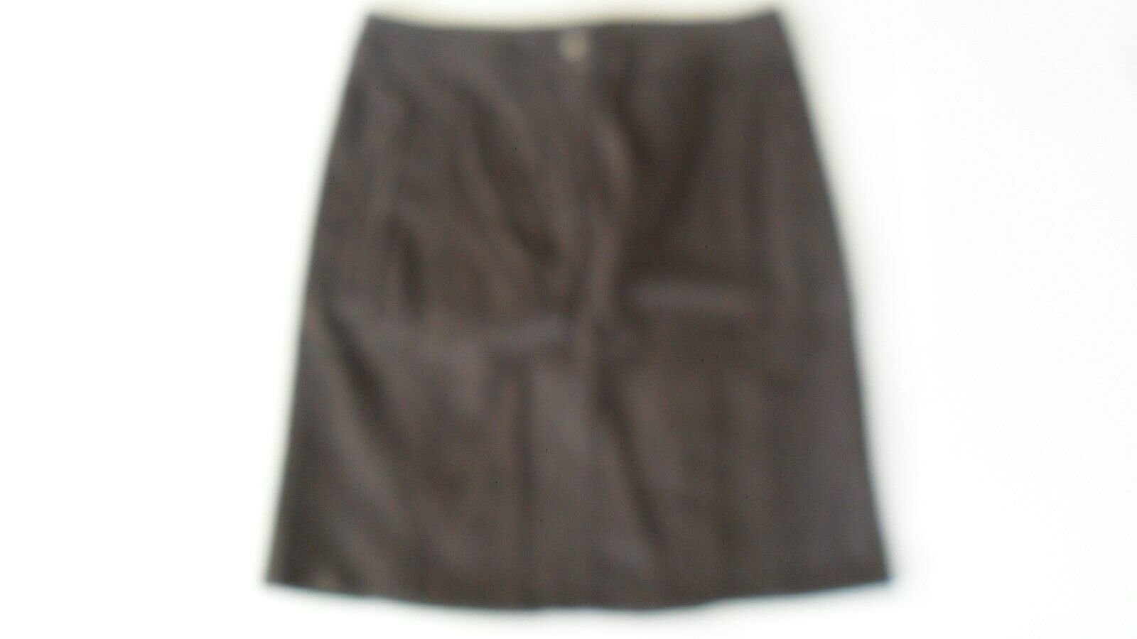 THOMAS COOK T8W2400026 damen ZIP DETAIL STRETCH SKIRT 443 CHOCOLATE Größe 8