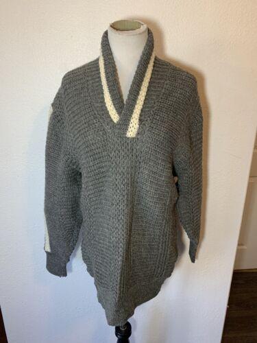 Vintage 60s Catalina M/L Cardigan Sweater Virgin W