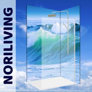 Duschrückwand Fliesenersatz Deco Design Dusche Ozean Pazifik Pacific Welle 965
