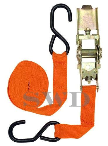 Heavy Heavy Heavy duty ratchet tie down strap 25ft remorque bagages camion galerie de toit fort f7ae46