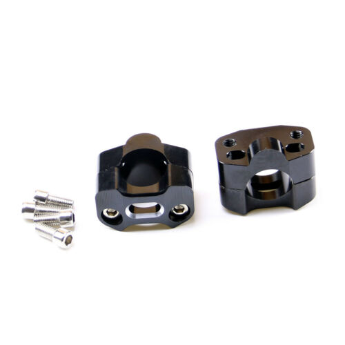 "HandleBar Fat Bar Mount Clamps Risers Adaptor 7//8/"" to 1 1//8/"" Dirt Pit Bike ATV"