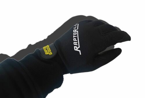 Raptor 4x4 Heavy Duty Winching Gloves Small Off Road Clothing Protection