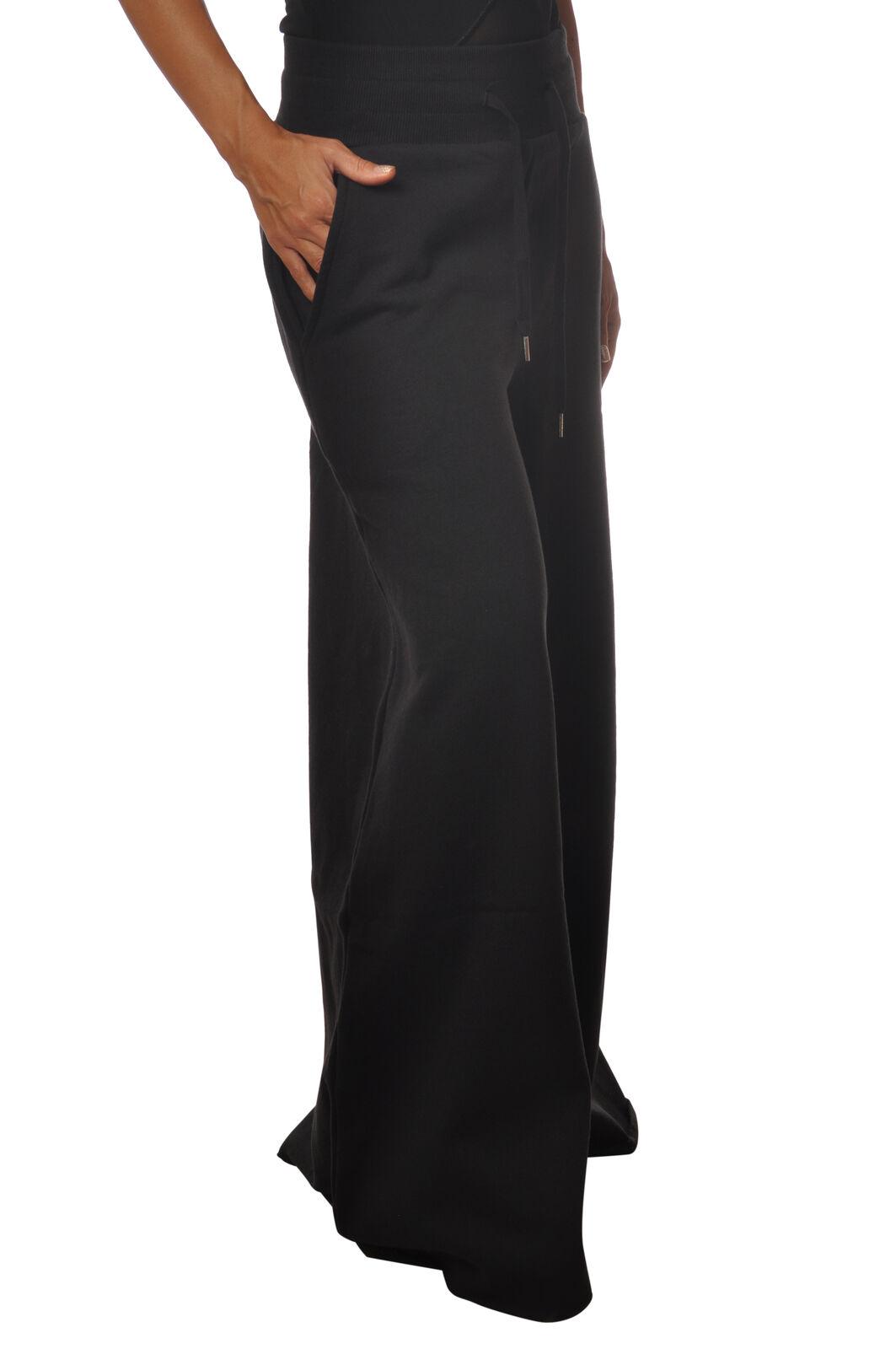 5 preview-Hose, trousers, sweatHemd-Frau-schwarz - 5507710c191743