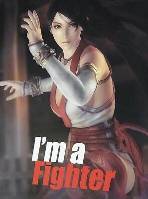 Dead Or Alive 5 Privilege Item I/'m a Fighter Poster B2 Big Size Ayane