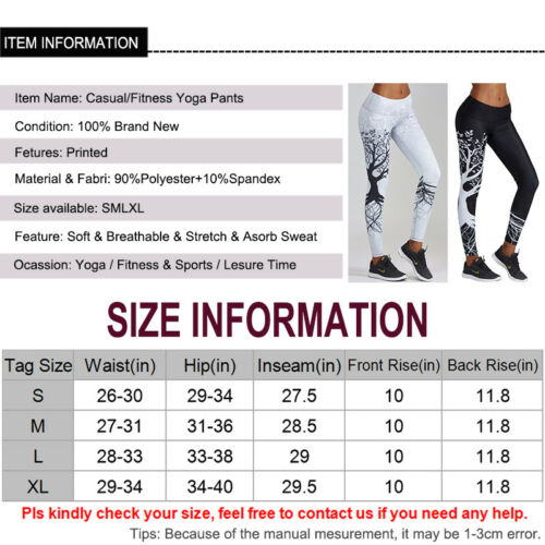 Esercizio jogging da C111 Pantaloni Gym Sport Fitness Crop Yoga Leggings Uk Top Womens HFn4q4