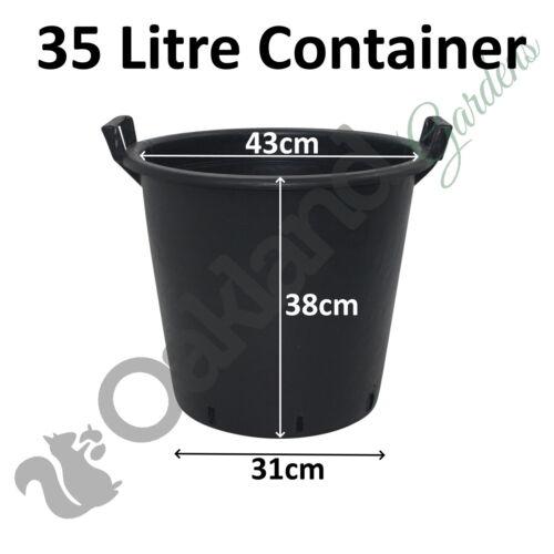 Heavy Duty Plastic Container Pots Tubs With Handles 30-70 Litre Potato Planter