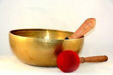 """11"""" Master healing singing bowl meditation bowl, Tibetan bowls, free pillow"""
