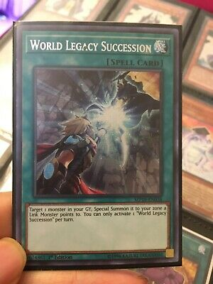 Prismatic Secret Rare World Legacy Succession 1x Yu-Gi-Oh MP19-EN038 NM