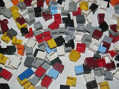 Panel 1x1x1 Corner Black lego 6231-6x Panneau angle coin NEUF Noir