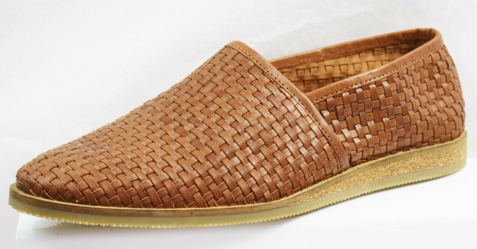 FRANK WRIGHT WOVEN MEN'S LOAFERS  BRAND NEW SIZE UK 9 (GR10)
