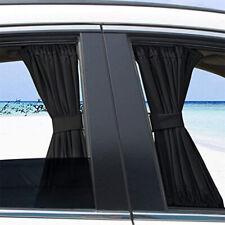 2 Car Sun Shade Side Window Curtain Auto Foldable Uv Protection Kit Fits 2009 Hyundai Santa Fe