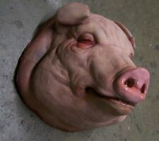 Life Size Fat Pig Head Halloween Prop & Decoration The Walking Dead Hog Corpse