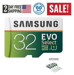 32-64-GB-MICRO-SD-CARD-EVO-Select-MicroSD-Class-Samsung-Galaxy-Note-8-S8-S9
