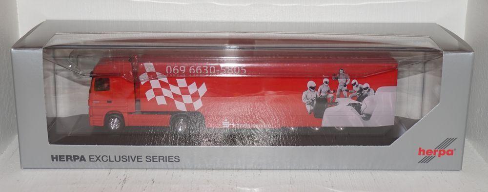 Herpa MB Actros Actros Actros 1860  caisses d'épargne Distributeur Service  1 87 PC et NEUF dans sa boîte (r1_4_8) fac41c