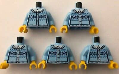 LEGO 16 x Torsos Minifigure Torso Bundle Joblot Male Female City Town CMF Jumper