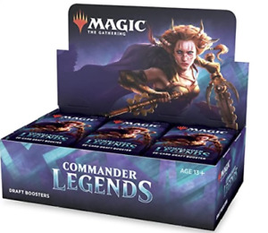 Commander Legends Draft Booster Box CMR 24 ct. NEW SEALED MTG SHIPS 11/6!