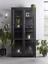 thumbnail 1 - Cox & Cox Living Room Modern Black Pine Raven Large Norway Cabinet - RRP £1200