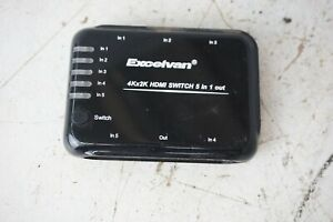 Excelvan 4Kx2K HDMI Switch 5 in 1 out