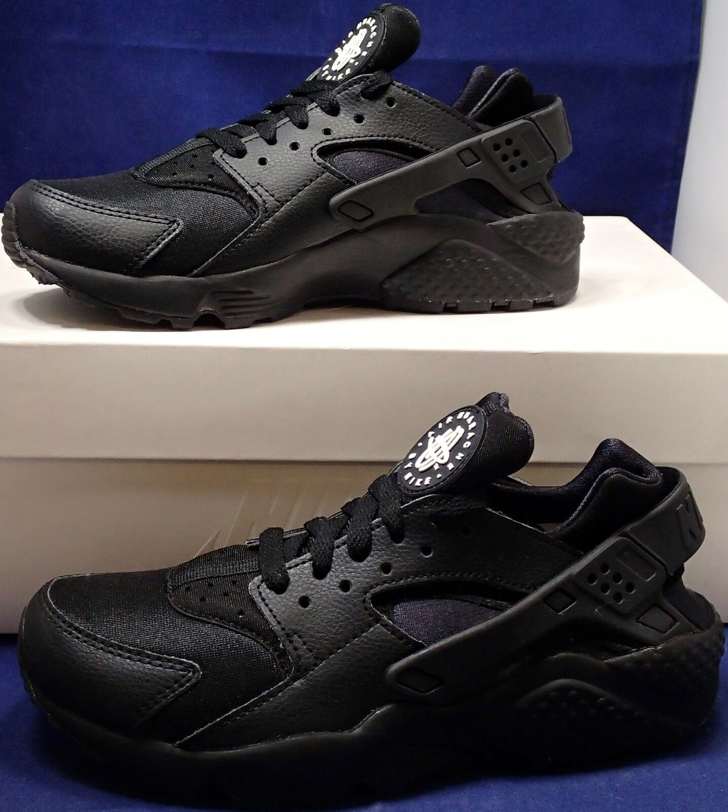 Donna Nike Air Huarache Run iD nero SZ 6 ( 777331-994 )