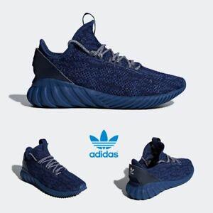 1abcc1627292 Adidas Original Tubular Doom Sock PK Shoes Running Navy CQ0942 SZ 4 ...