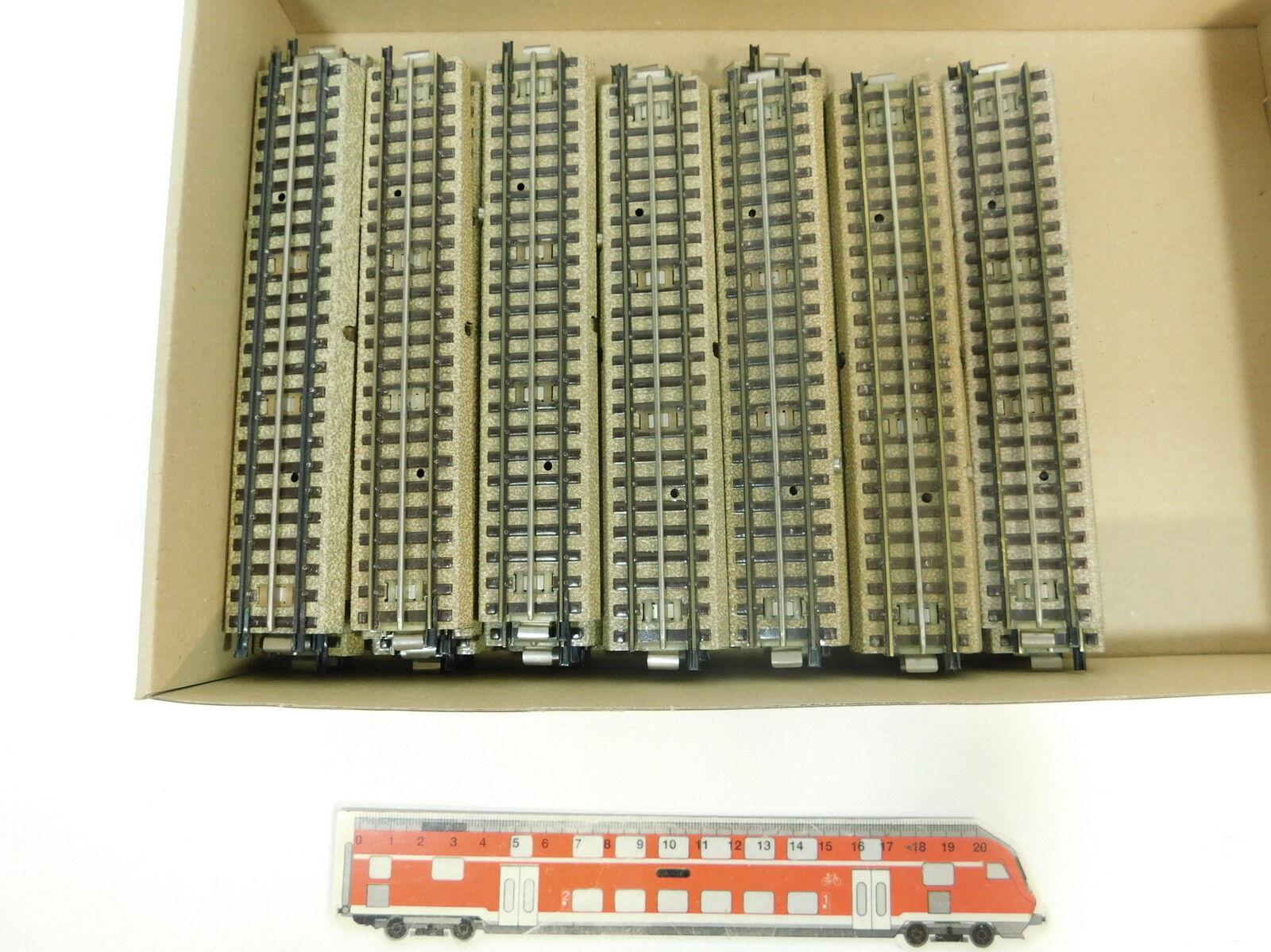 Bc67-2  35x marklin h0 00 ac pezzo di binario ferrovia M-Binario F. 3600 800 capo fondi