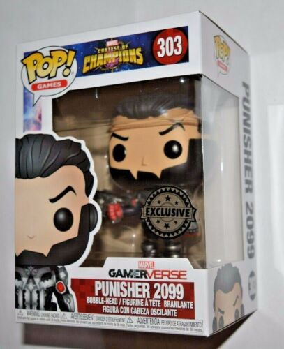 Funko Pop 303 Exclusive VINILE GAMES CONTEST OF CHAMPIONS//PUNISHER 2099 n