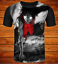 3D Print T-Shirt Womens Mens Cool Japanese Anime Casual Short Sleeve Tops Tees