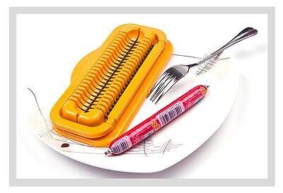 NEW Hot Dog Cutter Slicer Home Child Safe Kitchen Tools Slicers Dicer Y