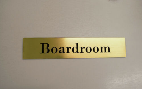 Custom Engraved Sign Plaque door 6cm x 3cm Custom Office Wall Name Plate