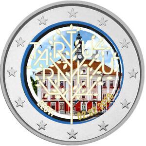 2-Euro-Gedenkmuenze-Estland-2020-coloriert-m-Farbe-Farbmuenze-Frieden-Tartu-2