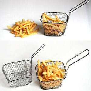 Electroplate-Stainless-Steel-Mini-Frying-Net-Square-Block-Mesh-Kitchen-Tools