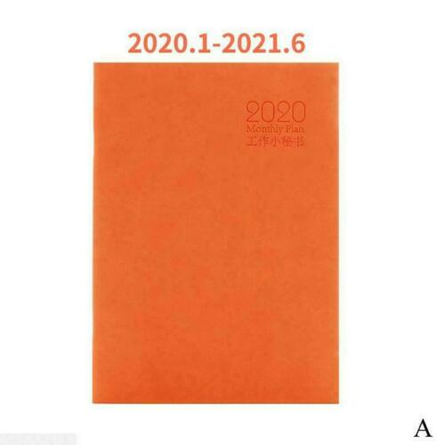 2020 Weekly Monthly Journal Planner Diary School Study Work Notebook Year E3P9