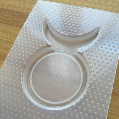 Horned God Plastic Mold Flexible Mould Food Safe Wicca Witchcraft Pagan Symbol