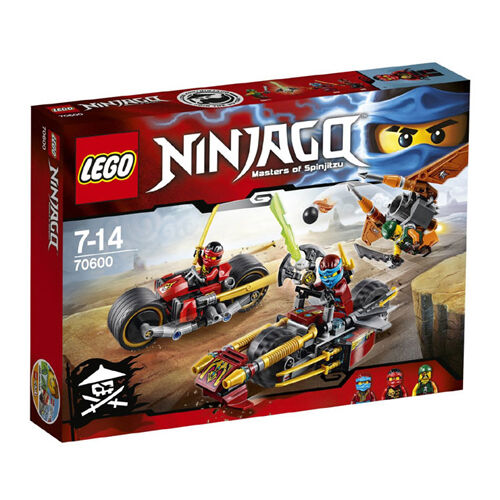 LEGO Ninjago 70600 Ninja Bike Chase Mixed Set New In Box Sealed