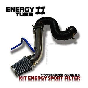 kit d 39 admission directe sport filtre a air tube inox renault clio 1 2 3 espace ebay. Black Bedroom Furniture Sets. Home Design Ideas