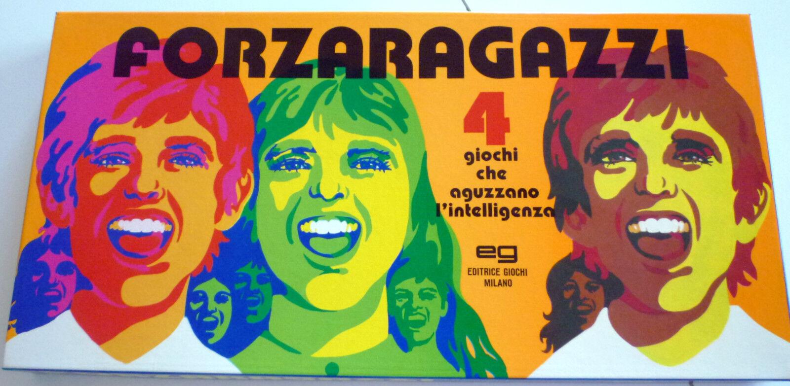 Forzaragazzi - and. Games Milan-years 80-RARE