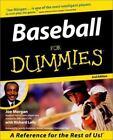 Baseball for Dummies by Joe Morgan and Richard Lally (2000, Paperback)