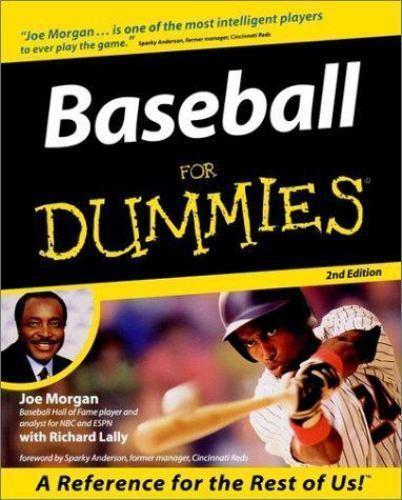 Baseball for Dummies-ExLibrary