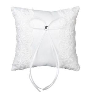 Pillow-Wedding-Ring-Pillow-Cushion-White-15cmx15cm-Q1D9-U2H2